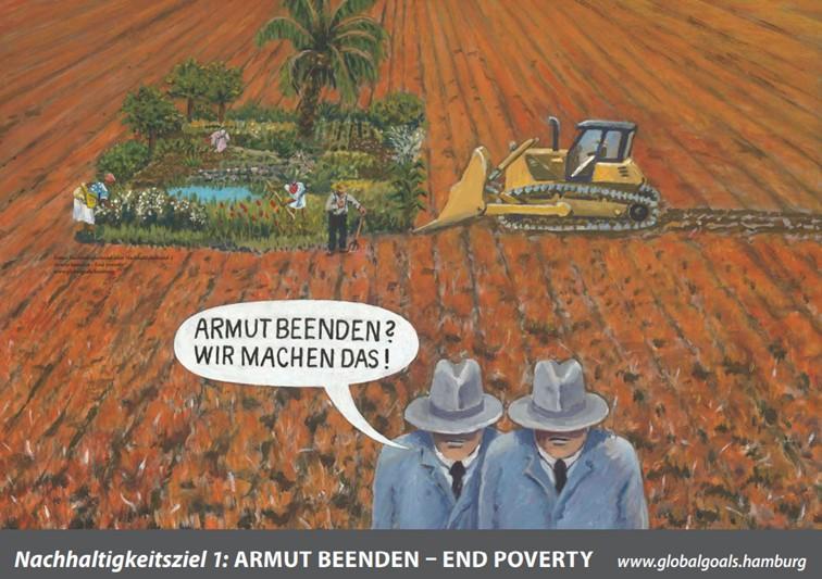 SDG 1 Armut beenden