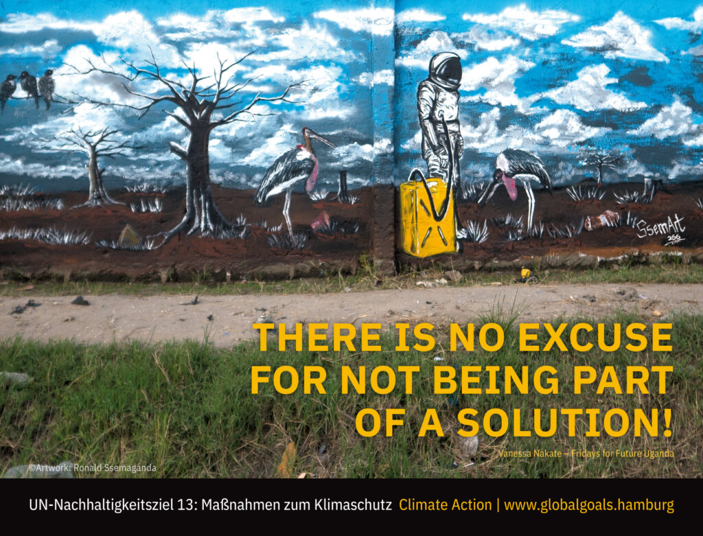 Wandbild SDG 13 - Massnahmen zum Klimaschutz